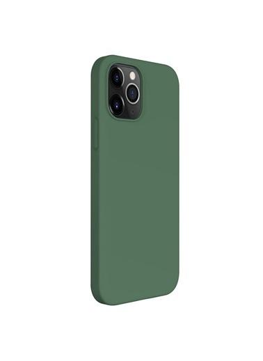 Microsonic Apple iPhone 12 Pro Kılıf Groovy Soft Yeşil